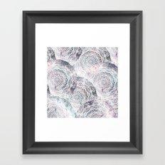 GALAXY BOHO MANDALAS Framed Art Print