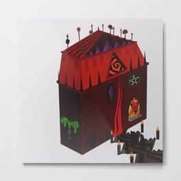 Devils Doll House Metal Print