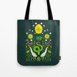 Swamp Folk Tote Bag
