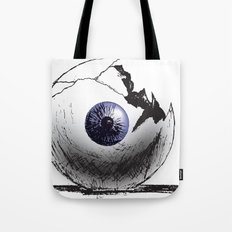 Broken Eye Tote Bag