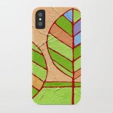 Spring Leaves iPhone X Slim Case