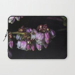 Blueberry blossom rain drops Laptop Sleeve