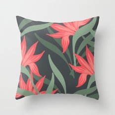 Flowers -a1 Throw Pillow