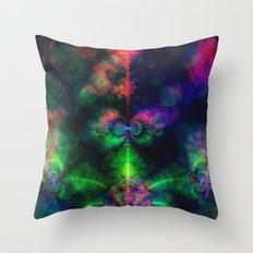 Fractal Space Throw Pillow