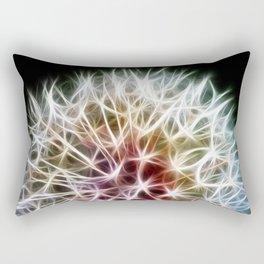 Fractal dandelion Rectangular Pillow