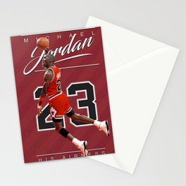 Michael Jorda-n His Airness Printable poster, Basketball Poster Stationery Cards