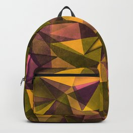 pattern 1 yellow Backpack