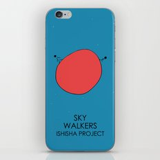SKY WALKERS by ISHISHA PROJECT iPhone & iPod Skin