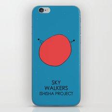 SKY WALKERS by ISHISHA PROJECT iPhone Skin