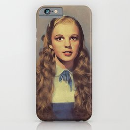 Judy Garland, Hollywood Legend iPhone Case