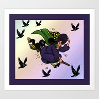 witch Art Prints featuring Witch by Art-Motiva