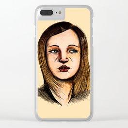 Goldilocks Clear iPhone Case