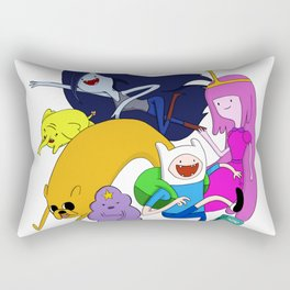 Adventure gang Rectangular Pillow