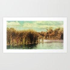 River Ant 97 Art Print