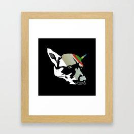 Fossil Dog Framed Art Print