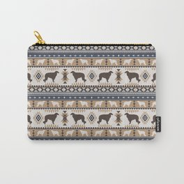 Boho dogs | Borzoi / Russian wolfhound tan Carry-All Pouch