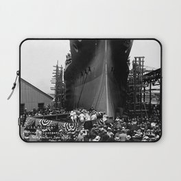 USS Arizona, Navy Yard, New York Laptop Sleeve