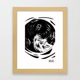 L Lawliet: Last Days Framed Art Print
