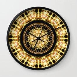 GlaMANDALA | Mandala Glamour Wall Clock