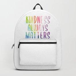 Kindness Always Matters Backpack