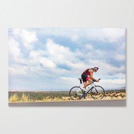 Time trial bike triathlon Canvas Print