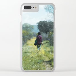 Long Walk Clear iPhone Case