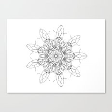 mandala art - peace Canvas Print