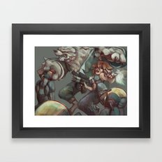 Digital painting - OC Framed Art Print
