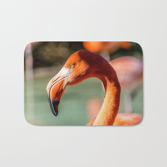 Eye of the Flamingo Bath Mat