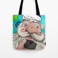 #santa#selfie Tote Bag