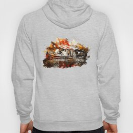 old ship boat wreck ws std Hoody