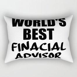 financial adviser Rectangular Pillow