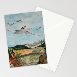 Nils Holgersson Stationery Cards