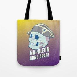Skullture: Napoleon Bone-Apart Tote Bag