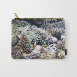 Fish in Sea Anemone Carry-All Pouch