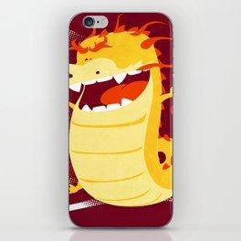 Happy Dragon iPhone Skin