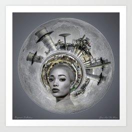 Gaia #6 Art Print