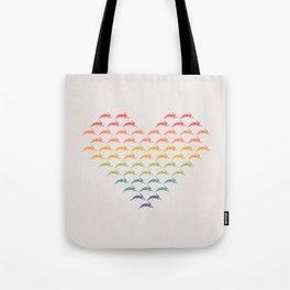 Pride Rabbits Tote Bag