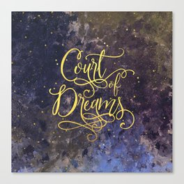 Court of Dreams Canvas Print