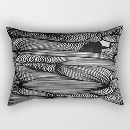 In-between the Lines Rectangular Pillow