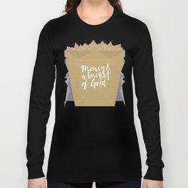 Fragments: Money & A Bucket'O'Gold Long Sleeve T-shirt