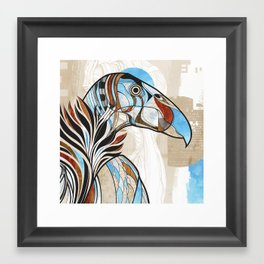 Condor colour Framed Art Print