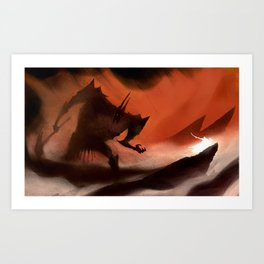 Morgoth Art Print