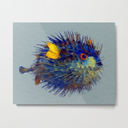 Mr. Puff Metal Print