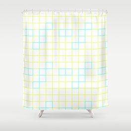 Neon Window Shower Curtain