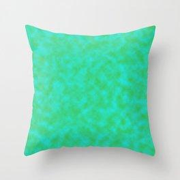 Neon Marble Throw Pillow