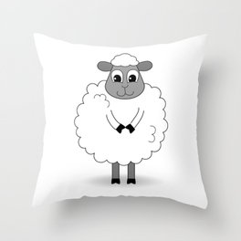 Not BaAad Lamb / Ewe Throw Pillow