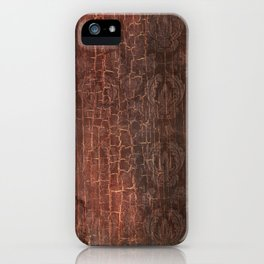 409 Aged Leather iPhone Case