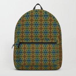 Capricorn Sun Sign Flower of Life Pattern Backpack