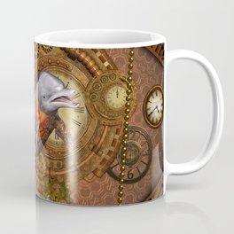 Steampunk, Wonderful dolphin Coffee Mug